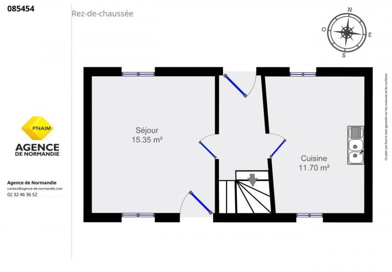 Vente maison / villa Montreuil-l'argille 85000€ - Photo 8