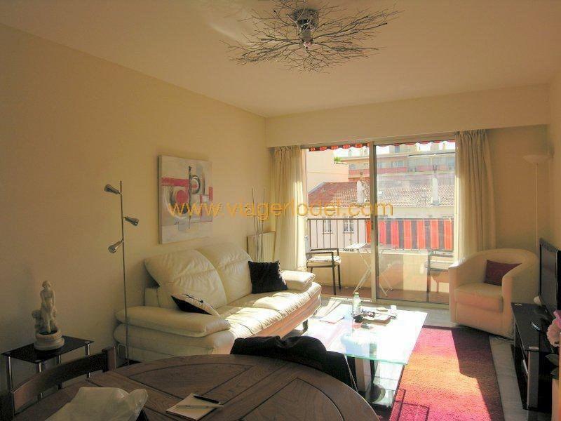 Vendita nell' vitalizio di vita appartamento Antibes 62000€ - Fotografia 2