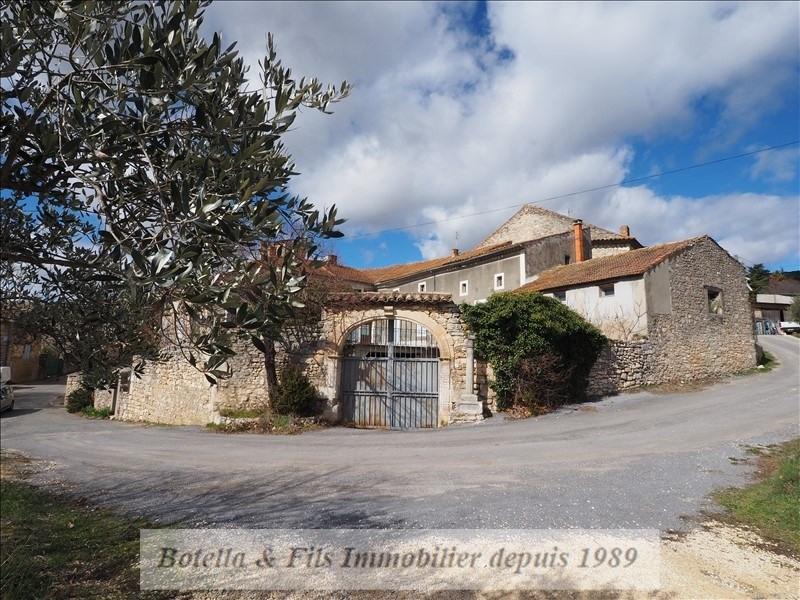 Vente maison / villa Goudargues 266000€ - Photo 1