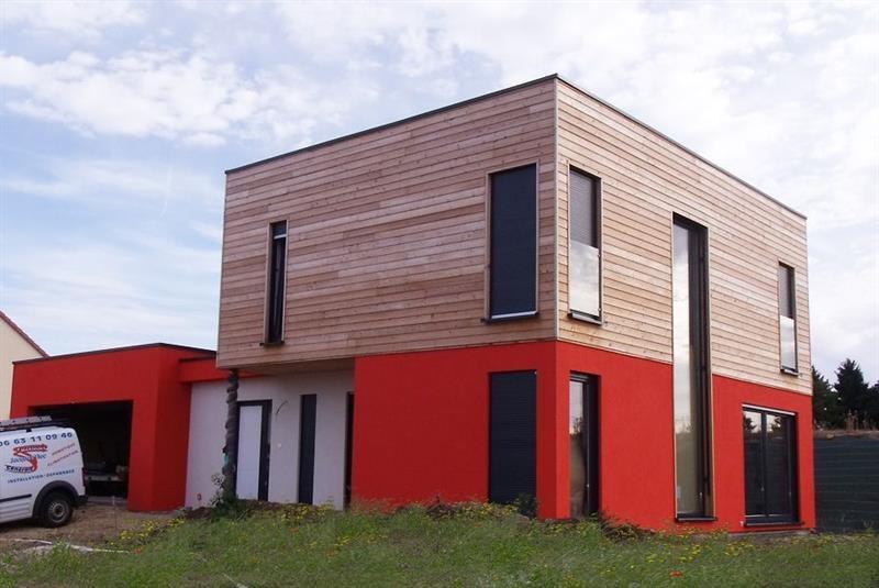 """Modèle de maison  """"Maison bois cubique à haute performance"""" à partir de 5 pièces Moselle par INNOV'HABITAT"""