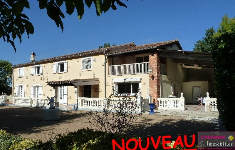 Deluxe sale house / villa Caraman  10 minutes 569 000€ - Picture 1