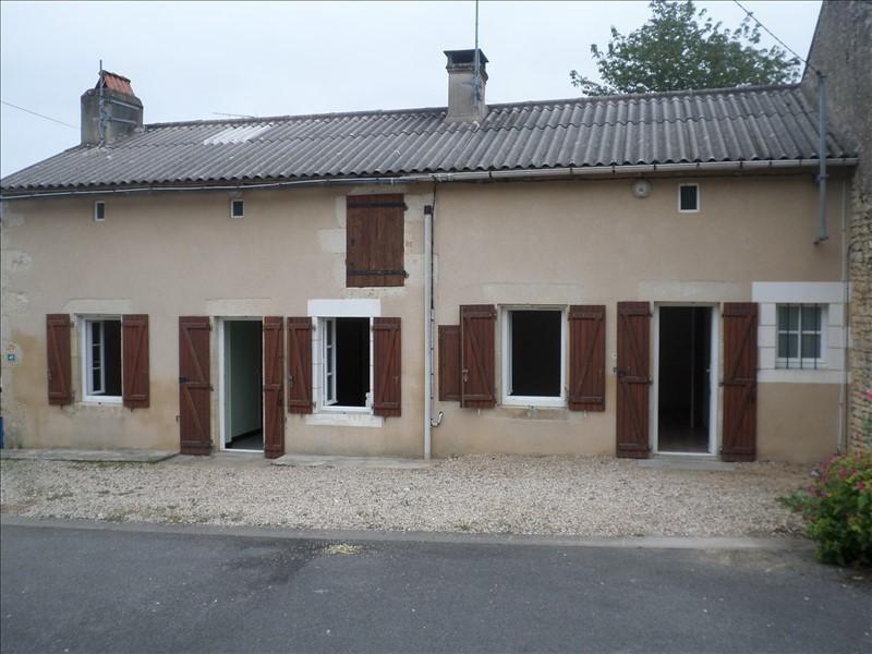 Vente maison / villa Civaux 96000€ - Photo 1
