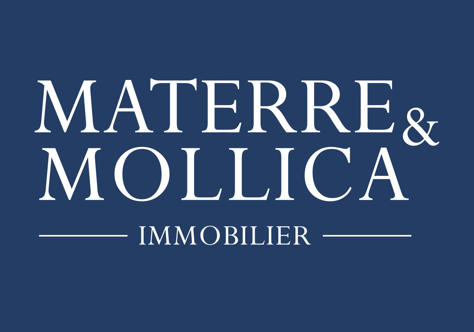 Materre et mollica immobilier agence immobili re de luxe for Agence immobiliere 75006