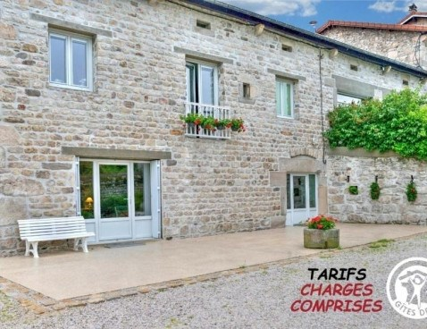 Location vacances Planfoy -  Appartement - 2 personnes - Barbecue - Photo N° 1