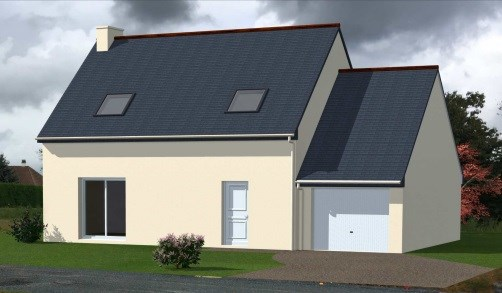 Maison  5 pièces + Terrain 464 m² Saint-Georges-Montcocq par MAISONS LE MASSON SAINT LO