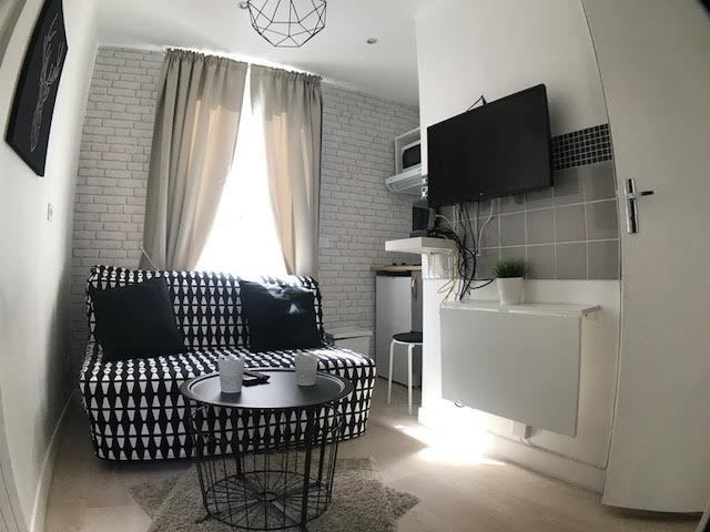 Location Studio 12m² Paris 19ème