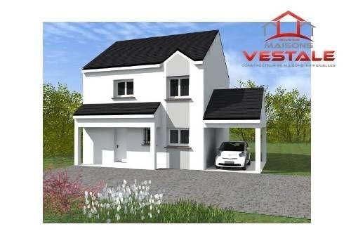 Maison  5 pièces + Terrain 700 m² Crégy-Lès-Meaux par MAISONS VESTALE IDF