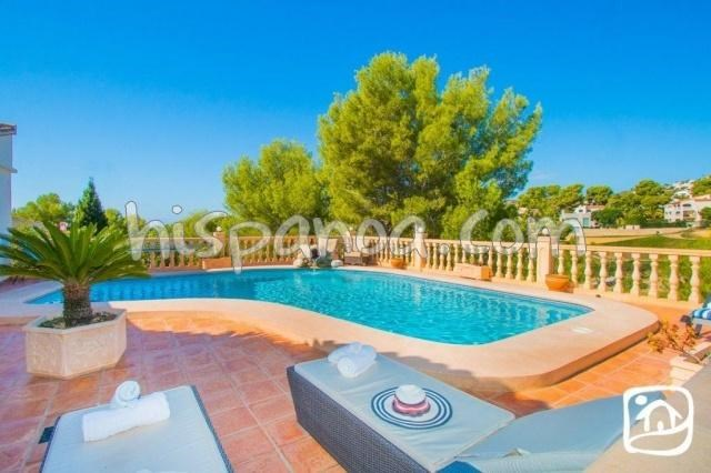 Holiday rentals Benissa - House - 10 persons - BBQ - Photo N° 1