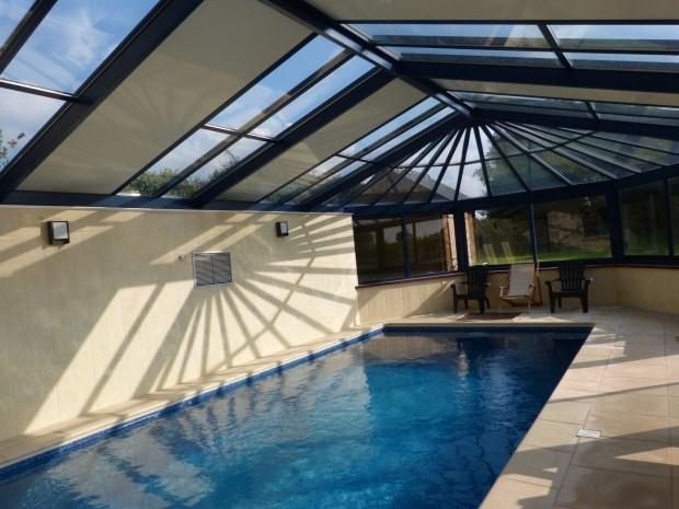 maison avec piscine spa et sauna - Plourin