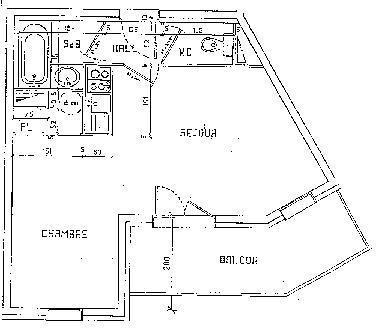 Appartement 2 pièces 2 personnes (018)