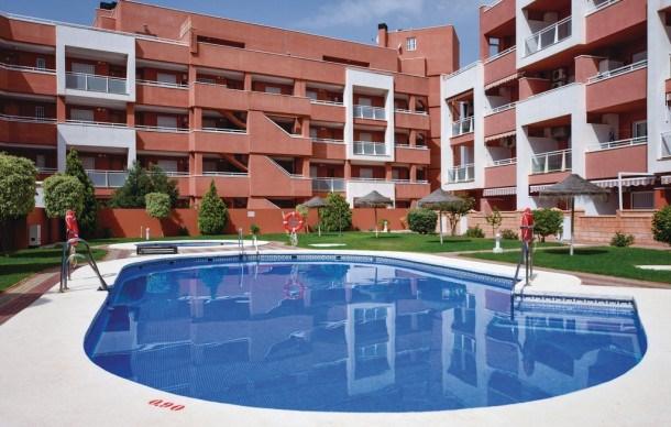 Location vacances Roquetas de Mar -  Appartement - 2 personnes - Jardin - Photo N° 1