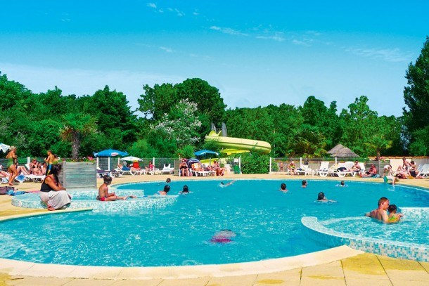 Camping le Clos Cottet 4* - MobilHome cosy 6pers 2ch