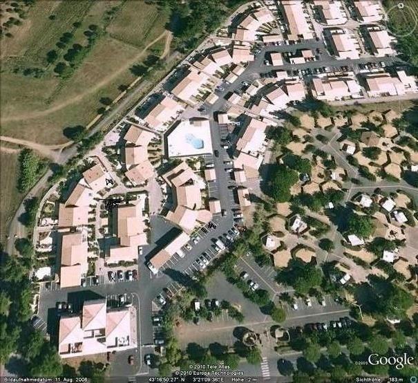 Vue aérienne du Clos de Socorro
