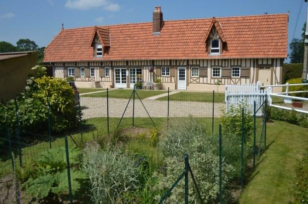 Gîte pour 4 personnes dans longère Normande du pays Dieppois - Ouville-la-Rivière