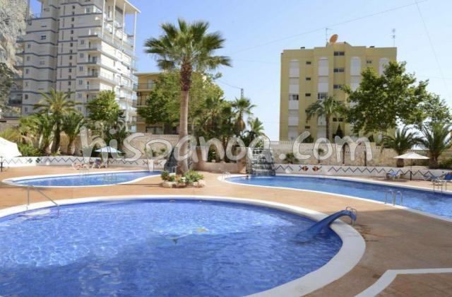 Location de cet appartement à Calpe avec piscine et vue mer |tur39c