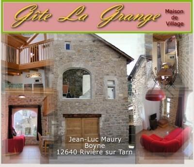 """Gite """"La Grange"""" aux portes des Gorges du Tarn - Rivière sur Tarn"""