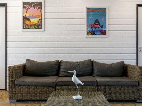 Location vacances Hyères -  Appartement - 7 personnes - Télévision - Photo N° 1