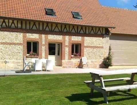 Location vacances Canouville -  Maison - 5 personnes - Barbecue - Photo N° 1