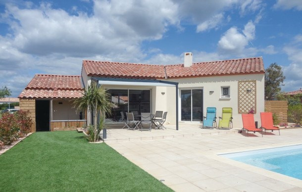 Location vacances Ginestas -  Maison - 6 personnes - Barbecue - Photo N° 1