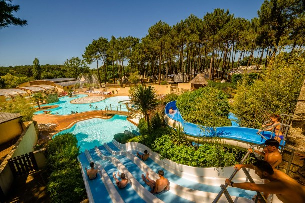Camping le Fort Espagnol - MH 2 chambres 5 personnes