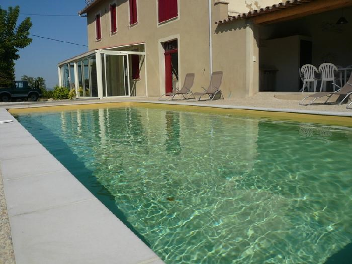 Holiday rentals Rasteau - House - 10 persons - BBQ - Photo N° 1