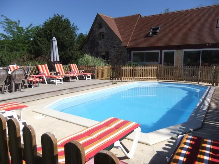 Maison de vacances gourdon en midi pyr n es pour 8 pers 135m - Gourdon piscine ...