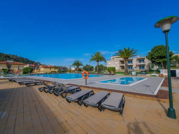 Location vacances Rosas -  Appartement - 4 personnes - Court de tennis - Photo N° 1