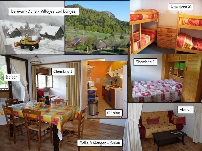 Location vacances Mont-Dore -  Appartement - 8 personnes - Salon de jardin - Photo N° 1