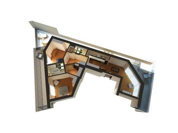 Vente Appartement 3 pièces 126m² Torino