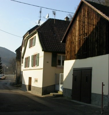 Holiday rentals near Mulhouse, Colmar and Vosges - Lautenbach