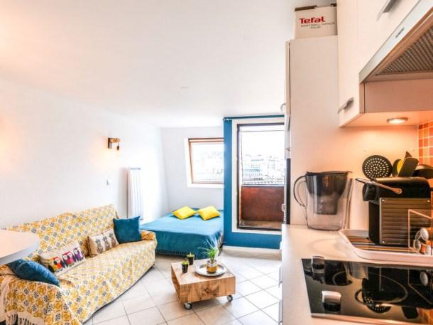 Location vacances Deauville -  Appartement - 2 personnes - Télévision - Photo N° 1