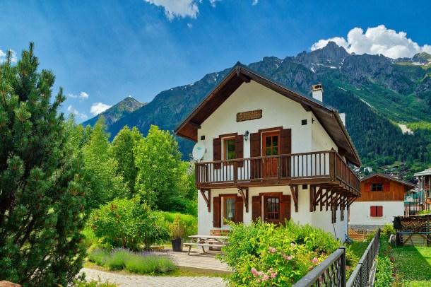 Location vacances Chamonix-Mont-Blanc -  Maison - 12 personnes - Barbecue - Photo N° 1
