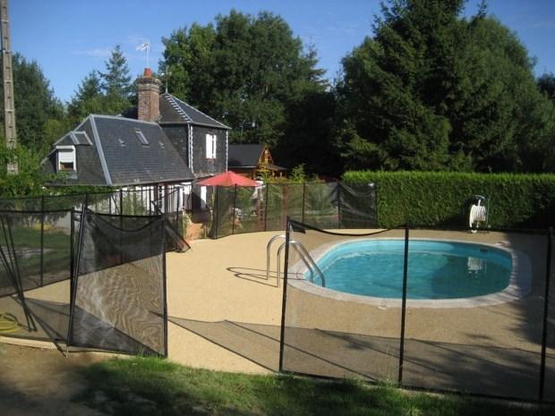 Gîte de groupe pour maximum 23 personnes avec piscine chauffée - Piencourt