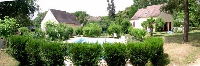 Maison de vacances  pour 4 personne(s), classée 2 étoiles, avec piscine