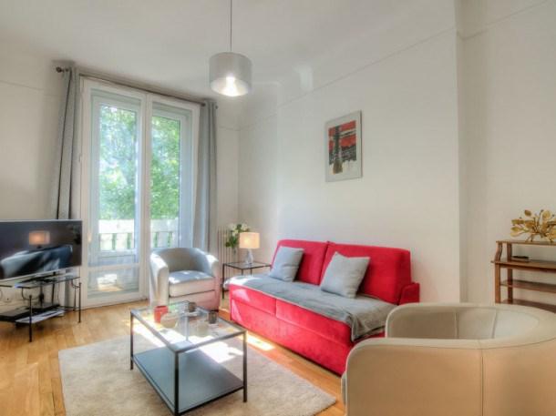 Location vacances Paris 16e Arrondissement -  Appartement - 4 personnes - Télévision - Photo N° 1