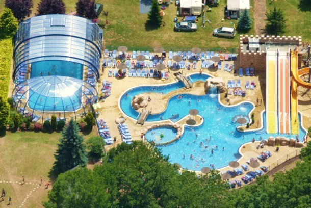 Camping La Ribeyre 5* - Relax plus  Mh 2 ch 6 pers (5 adultes + 1 enfant)