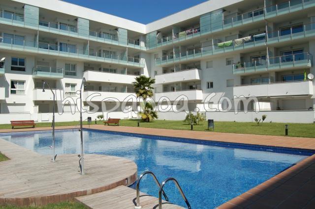 Location appartement avec piscine Costa Brava à Rosas   r127