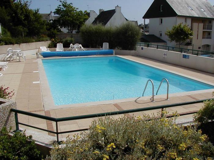 Appartement pour 4 pers. avec piscine, Étel