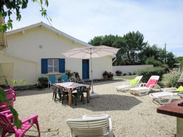 Location vacances Jau-Dignac-et-Loirac -  Maison - 5 personnes - Barbecue - Photo N° 1