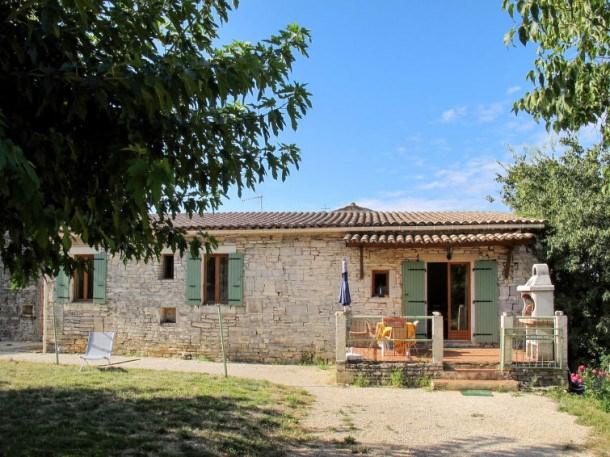Location vacances Barjac -  Maison - 4 personnes - Barbecue - Photo N° 1