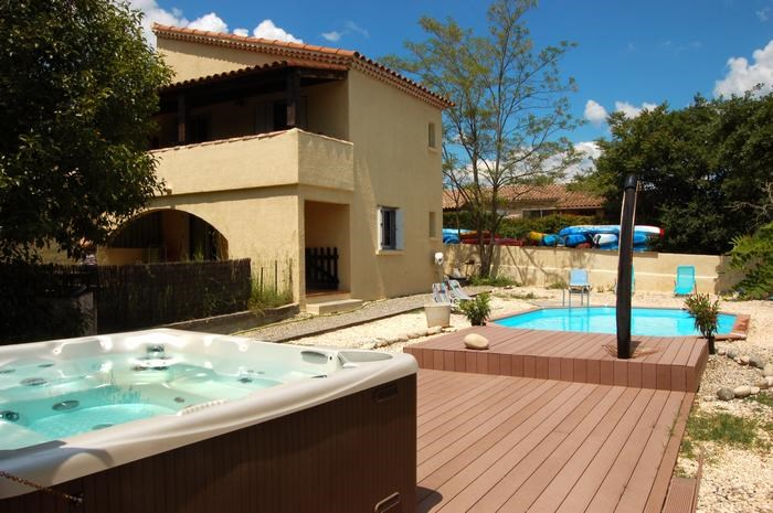 Holiday rentals Ruoms - Apartment - 4 persons - BBQ - Photo N° 1
