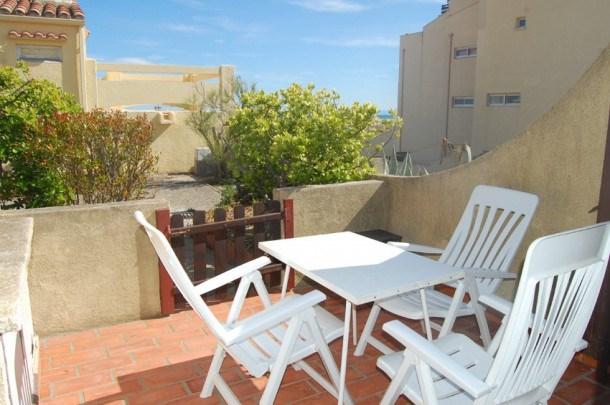 Location vacances Leucate -  Appartement - 2 personnes - Terrasse - Photo N° 1