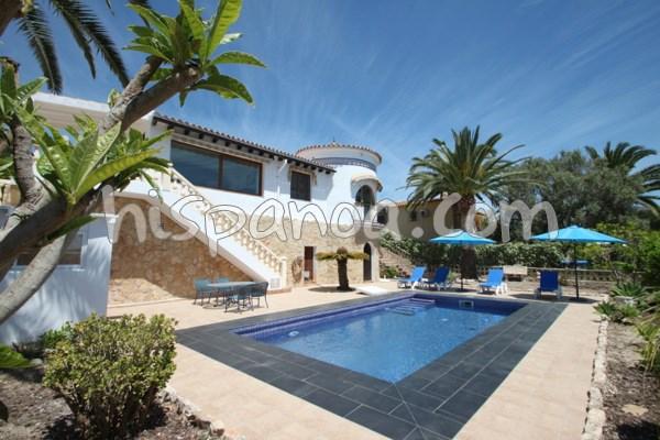 A louer jolie villa pour 4 avec piscine privée sur la costa blanca |golon