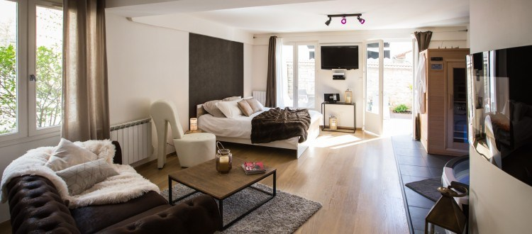 Appartement avec spa Privatif à Dijon