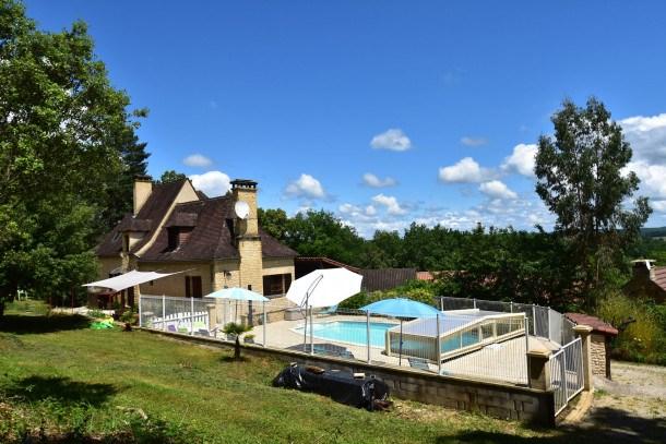 Location vacances Calviac-en-Périgord -  Maison - 8 personnes - Barbecue - Photo N° 1