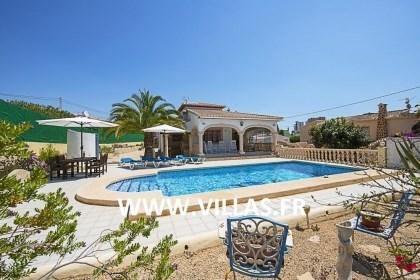 Villa OL MO - Jolie villa située à Calpe et profitant de sa piscine privée.