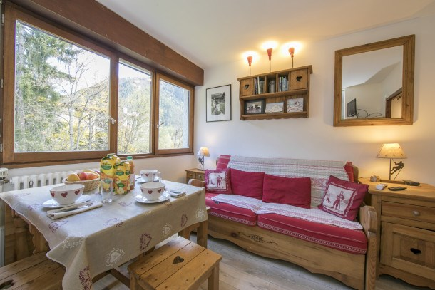Location vacances Chamonix-Mont-Blanc -  Appartement - 2 personnes - Barbecue - Photo N° 1