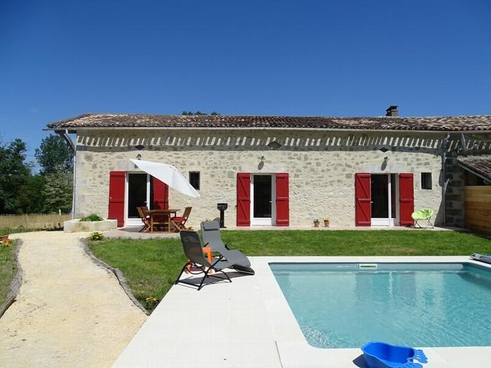 Location vacances Roumagne -  Maison - 4 personnes - Barbecue - Photo N° 1