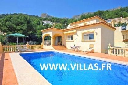 Villa OL Sabi - Agréable villa de vacances pour 6 personnes avec piscine privée et vue panoramique sur la mer et la m...
