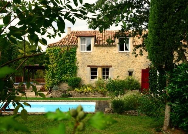 demeure de caractère avec piscine privée et chauffée sur 8 ha - Saint-Méard-de-Gurçon